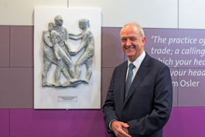 Sir Bruce opens The Doubleday Centre for Patient Experience